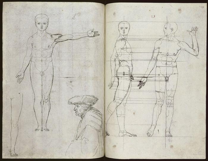 Albrecht Dürer, Dresdner Skizzenbuch, Dresden, Sächsische Landes- und Universitätsbibliothek © SLUB Dresden / Deutsche Fotothek.