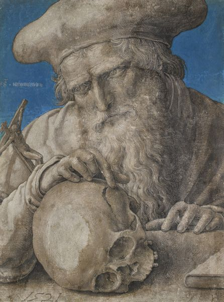 Lucas van Leyden (1494–1533), Hl. Hieronymus im Studierzimmer, 1521, The Ashmolean Museum, University of Oxford © The Ashmolean Museum, University of Oxford.