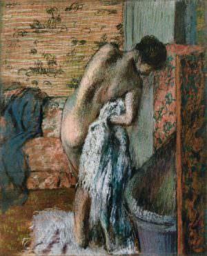 Edgar Degas, Nach dem Bad (Sich abtrocknende Frau), um 1895 (© Jean-Luc Baroni Ltd.)