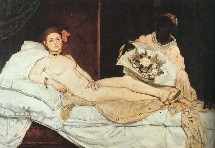 Édouard Manet, Olympia, 1863, Öl auf Leinwand, 130x190 cm, Paris, Musée d'Orsay, donated to the state in 1890 thanks to a subscription instigated © Musée d'Orsay, Dist. RMN-Grand Palais / Patrice Schmidt.