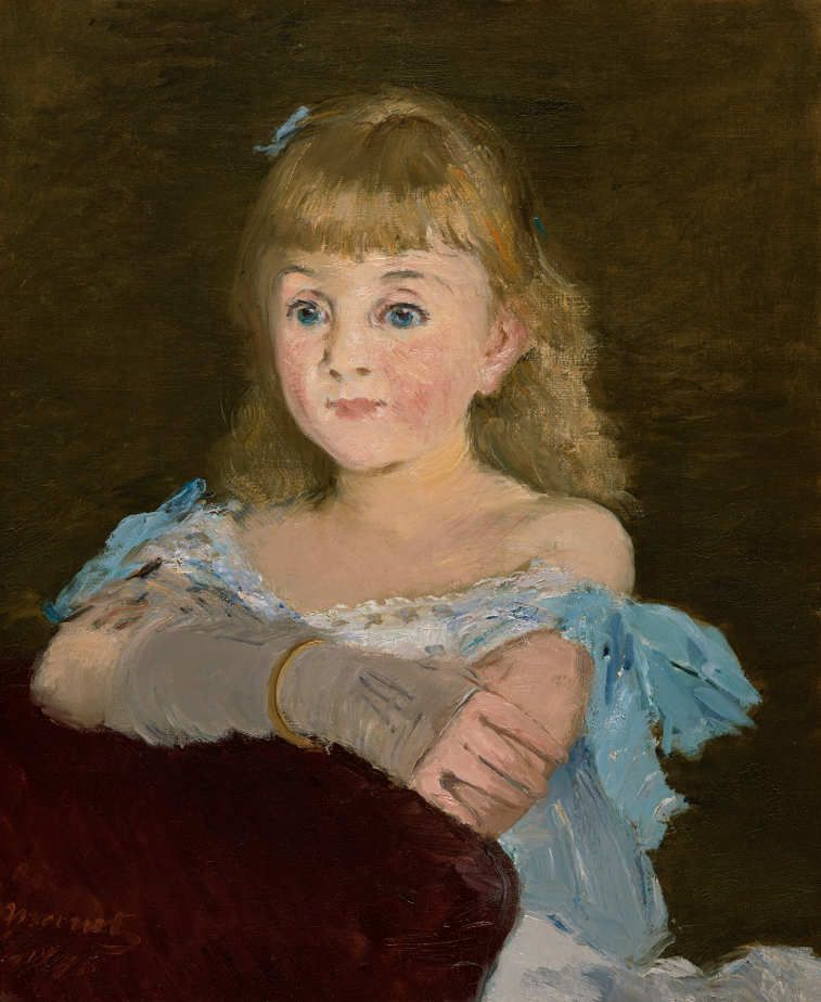 Edouard Manet, Lise Campinéanu, 1878, Öl auf Leinwand, 55,5 x 46,5 cm (The Nelson-Atkins Museum of Art, Kansas City, Missouri, purchase: William Rockhill Nelson Trust, 36-5 © The Nelson-Atkins Museum of Art, Foto: Jamison Miller)