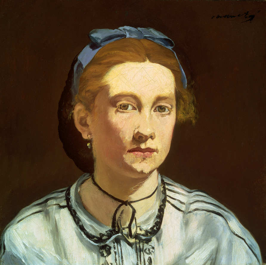 Edouard Manet, Victorine Meurent, um 1862, Öl auf Leinwand, 42,9 x 43,8 cm (Museum of Fine Arts, Boston, Gift of Richard C. Paine in memory of his father, Robert Treat Paine 2nd © Museum of Fine Arts, Boston)