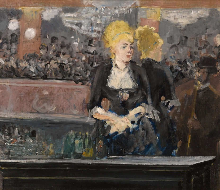 Edouard Manet, Le Bar aux Folies-Bergère (Ésquisse à l'huile) / Die Bar in den Folies-Bergère (Ölskizze), 1881, Öl auf Leinwand, 47 x 56 cm (Privatsammlung © Sotheby's)