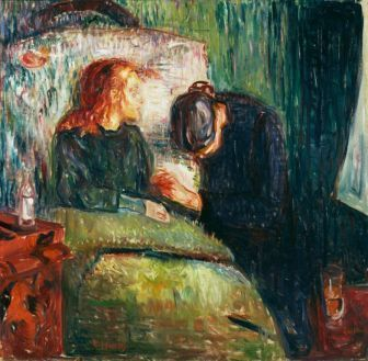 Edvard Munch, Das kranke Kind, 1907, Öl auf Leinwand, 118,7 x 121 cm (Tate, Presented by Tomas Olsen 1939, Poto Credit: © Tate, London 2014)