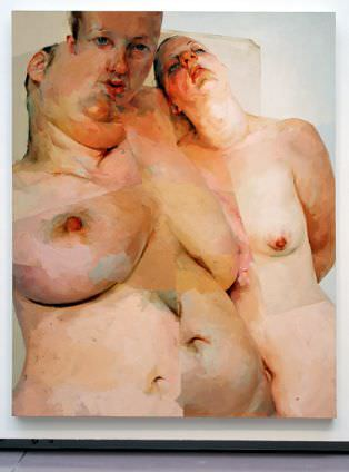 Jenny Saville, Ruben' s Flap, 1998/99, Öl auf Leinwand, 304,8 x 243,8 cm, The George Economou Collection, Foto: Alexandra Matzner.