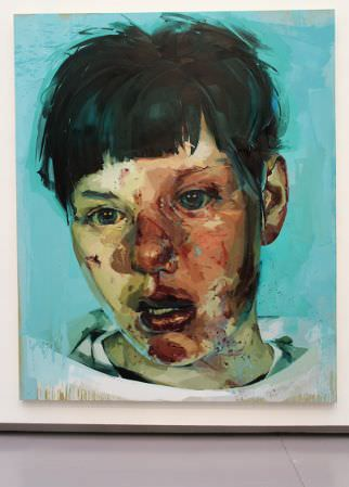 Jenny Saville, Stare, 2004/05, Öl auf Leinwand, 305 x 250 cm, The Broad Art Foundation, Santa Monica, Foto: Alexandra Matzner.