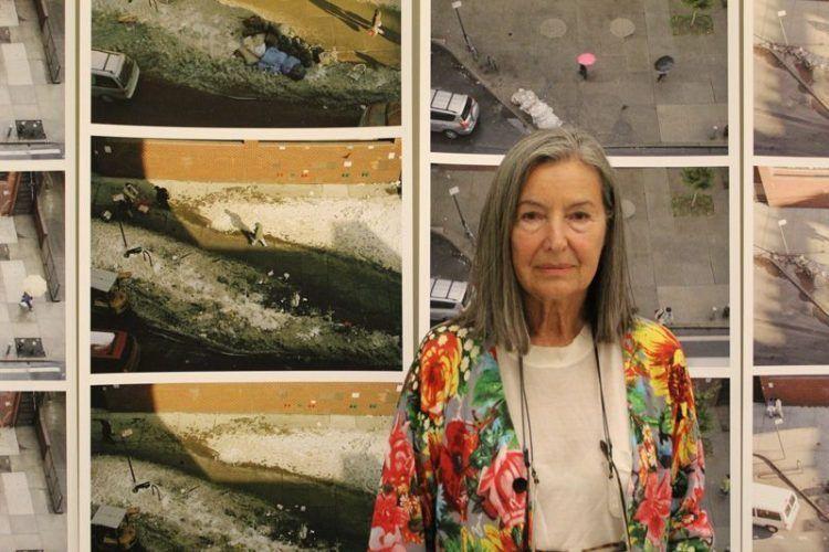 Elfie Semotan in der Kunsthalle Krems, Foto: Alexandra Matzner.