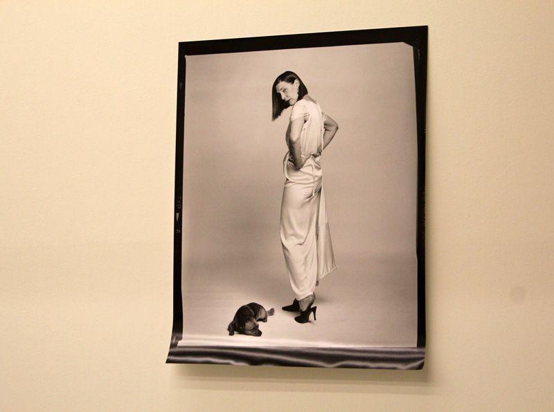 Elfie Semotan, Martha Jungwirth, Ausstellungsansicht in der Kunsthalle Krems, 2013, Foto: Alexandra Matzner.