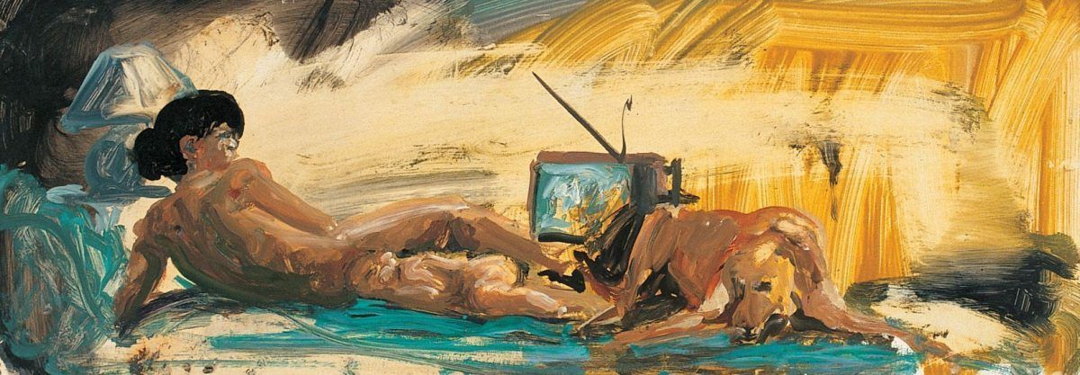 Eric Fischl, Study for Floating Islands, 1985 © Courtesy des Künstlers und Galerie Jablonka, Köln.