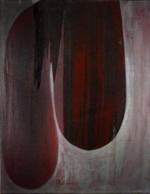 Erwin Bohatsch, Ohne Titel, 1994, Öl und Kunstharz auf Leinwand, 70 x 55 cm (Albertina, Wien & Schenkung Sammlung Ploner)