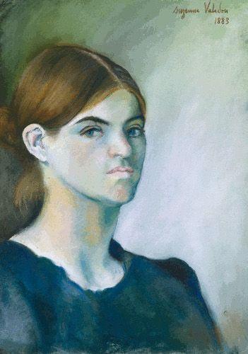 Suzanne Valadon, Autoportrait, 1883, Kohle und Pastell auf Papier, 43,5 x 30,5 cm. © Centre Pompidou, Paris, Musée national d´art moderne/ Centre de création industrielle bpk | CNAC-MNAM | Jacqueline Hyde.