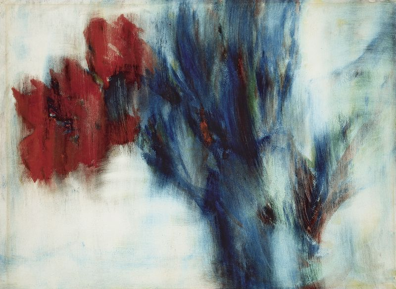 Christian Rohlfs, Rote Cannas, 1935 © Leopold Museum Vienna.