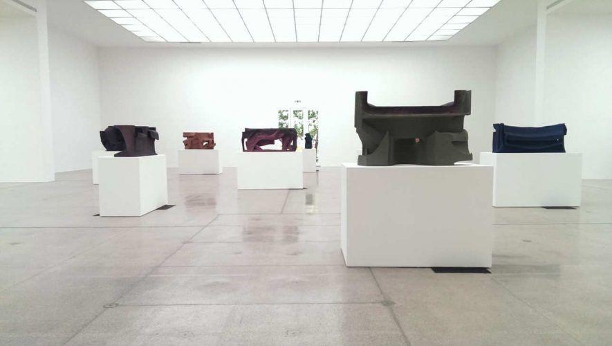 Vincet Fecteau im Sommer 2016 in Wien, Installationsansicht in der Secession: © Alexandra Matzner.