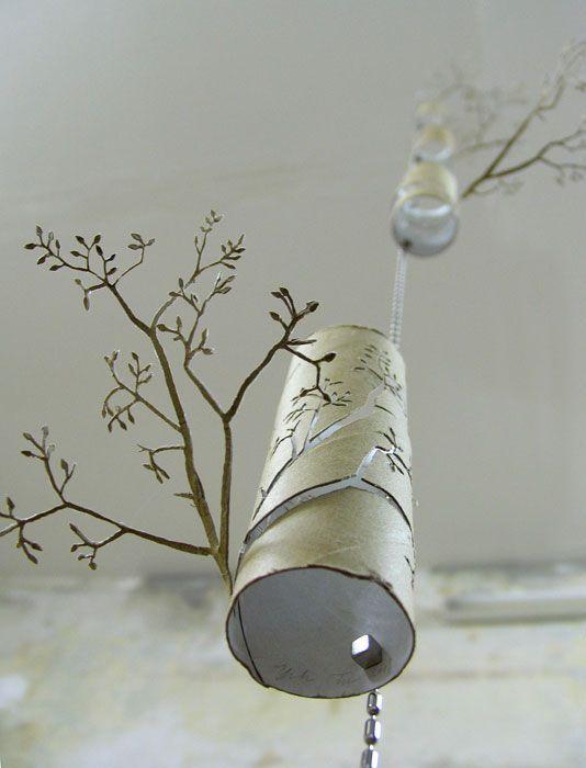 Yuken Teruya, Rain Forest, 2007, Papierschnitt, Objekt.