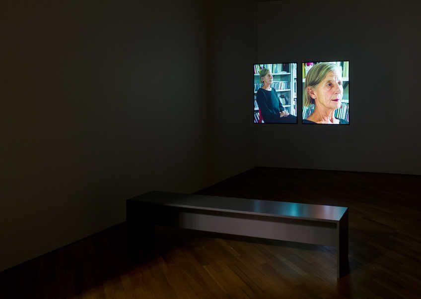 Fiona Tan, Diptych, 2006–2011, Installationsansicht: Nasjonalmuseet / Børre Høstland 2015.