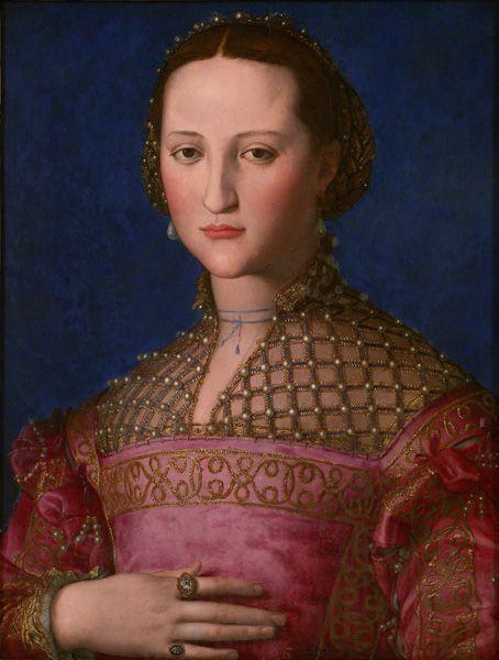 Agnolo Bronzino, Eleonora von Toledo, um 1543, Národni Gallerí, Prag © National Gallery in Prague 2013.