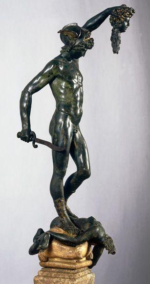 Benvenuto Cellini, Perseus mit dem Kopf der Medusa, ca. 1553, Museo Nazionale del Bargello, Florenz © 2013. Foto Scala, Florenz – mit freundlicher Genehmigung des Ministero Beni e Attività Culturali.