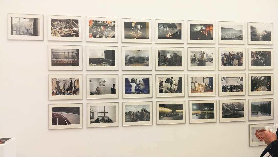 Florian Rainer, Fluchtwege, 2015, Ausstellungsansicht MUSA 2016, Foto: Alexandra Matzner.