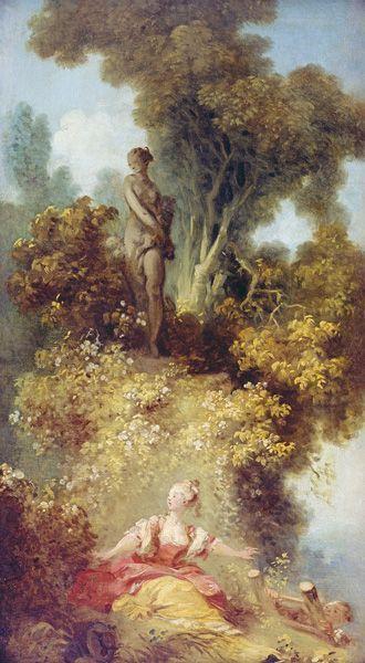 Jean-Honoré Fragonard, Die Überraschung, um 1771, Musées d'Angers © Musées d'Angers, Foto: Pierre David.