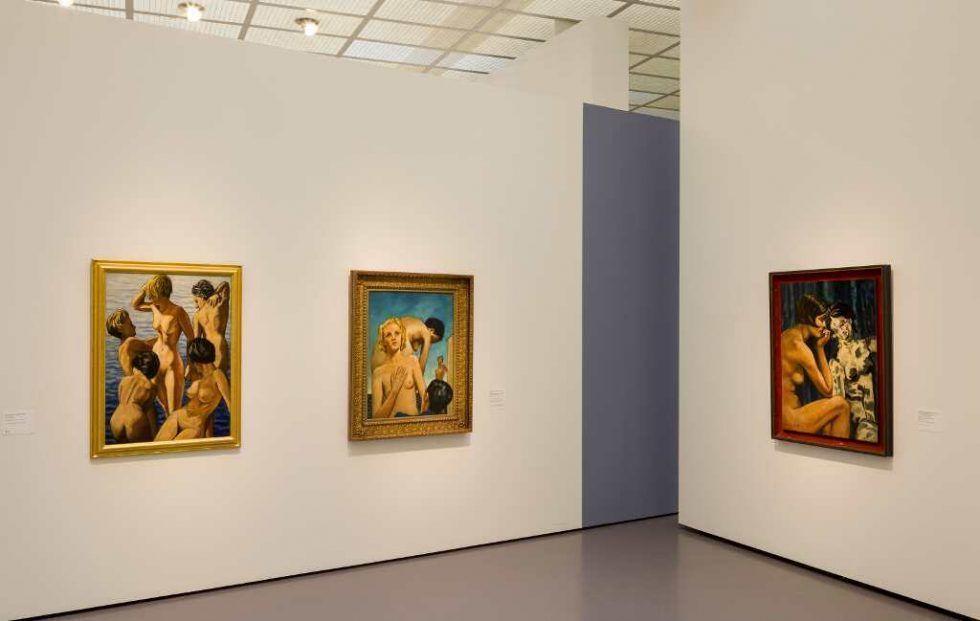 Francis Picabia, Akte, Ausstellungsansicht im Kunsthaus Zürich, 2016.