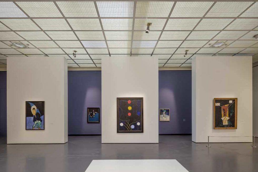Francis Picabia, Ausstellungsansicht im Kunsthaus Zürich, 2016.