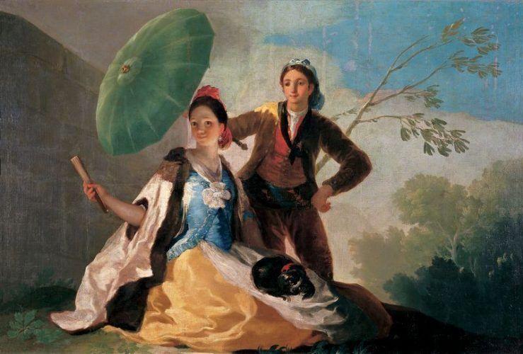 Francisco de Goya, Der Sonnenschirm, um 1777 (Museo Nacional del Prado).