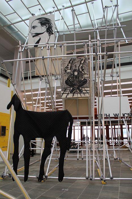 Franz Graf, 21er Haus, Ausstellungsansicht, Foto: Alexandra Matzner.