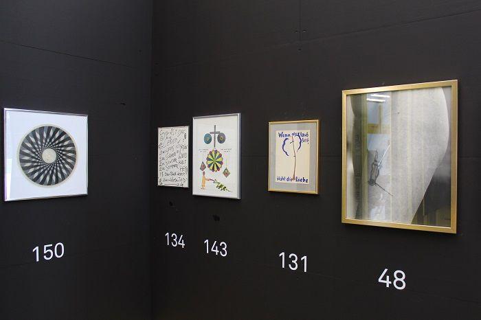 Franz Graf, SIEHE WAS DICH SIEHT, 21er Haus, Installationsansicht, Foto: Alexandra Matzner.