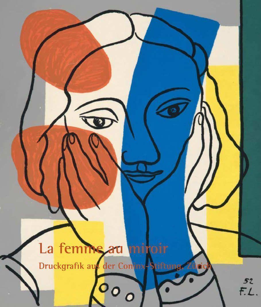 """""""La femme au miroir"""" in Jena, Cover des Ausstellungskatalogs"""