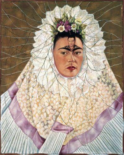 Frida Kahlo, Selbstbildnis als Tehuana oder Diego in meinen Gedanken, 1943 (The Jacques and Natasha Gelman Collection) Mexican Art and The Vergel Foundation, Werk: © Banco de México, Diego Rivera & Frida Kahlo Museums Trust, México, D.F./VBK, Wien, 2010.