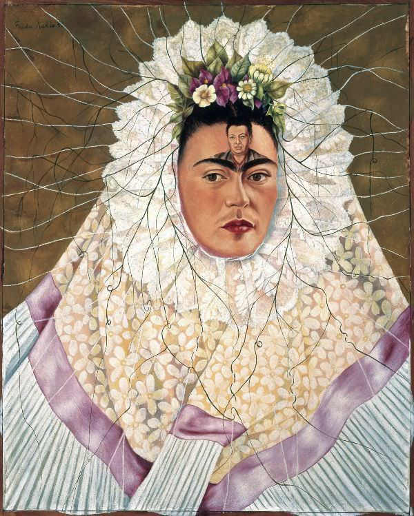 Frida Kahlo, Selbstbildnis als Tehuana oder Diego in meinen Gedanken, 1943 (The Jacques and Natasha Gelman Collection) Mexican Art and The Vergel Foundation, Werk: © Banco de México, Diego Rivera & Frida Kahlo Museums Trust, México, D.F./VBK, Wien, 2010.