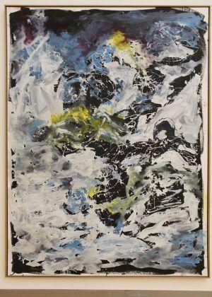 Georg Baselitz, Schon wieder eine schlechte Note, 2012 (Essl Museum), Foto: Alexandra Matzner.