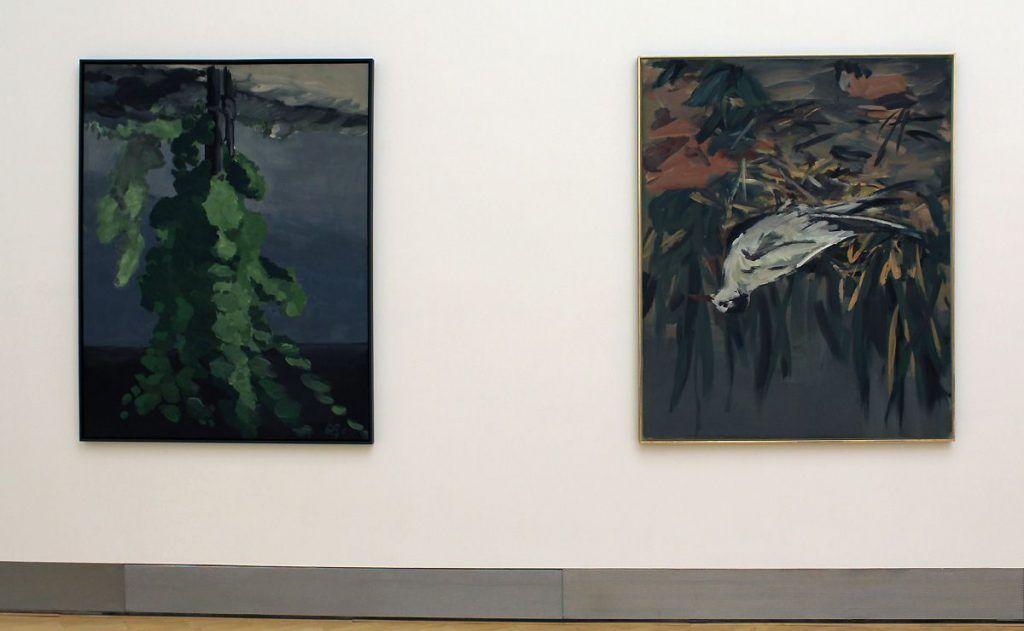 Georg Baselitz, Wieder eine schlechte Note, 1999 (Essl Museum), Foto: Alexandra Matzner.