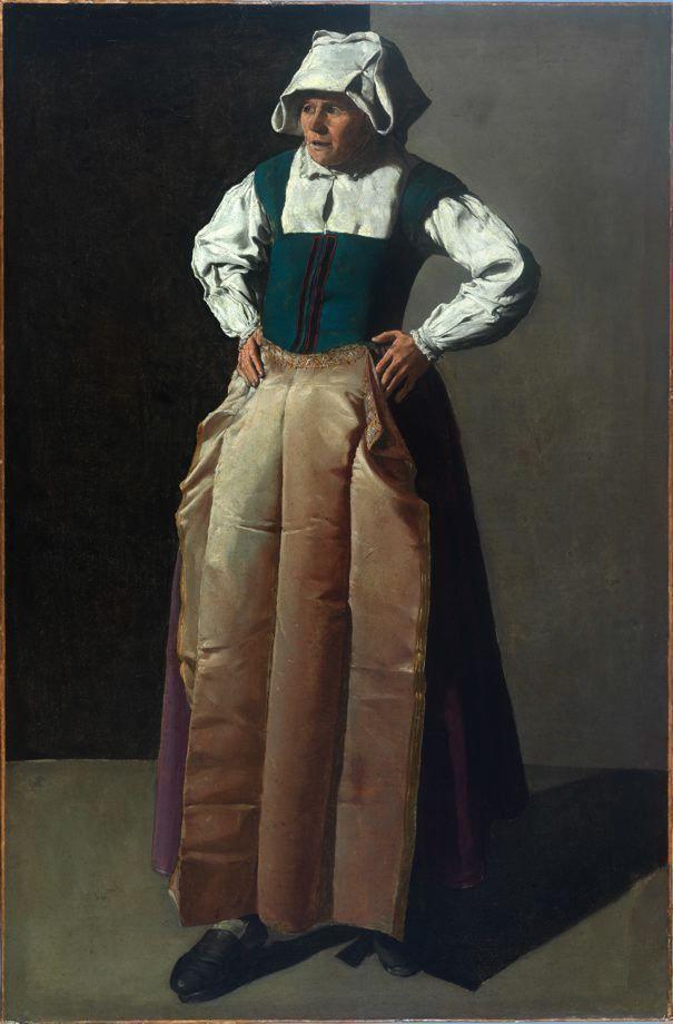 Georges de La Tour, Alte Frau, Öl auf Leinwand, 91,5 x 60 cm (Fine Arts Museum of San Francisco, San Francisco, Roscoe and Margaret Oakes Collection, Inv.-Nr. 75.2.10)