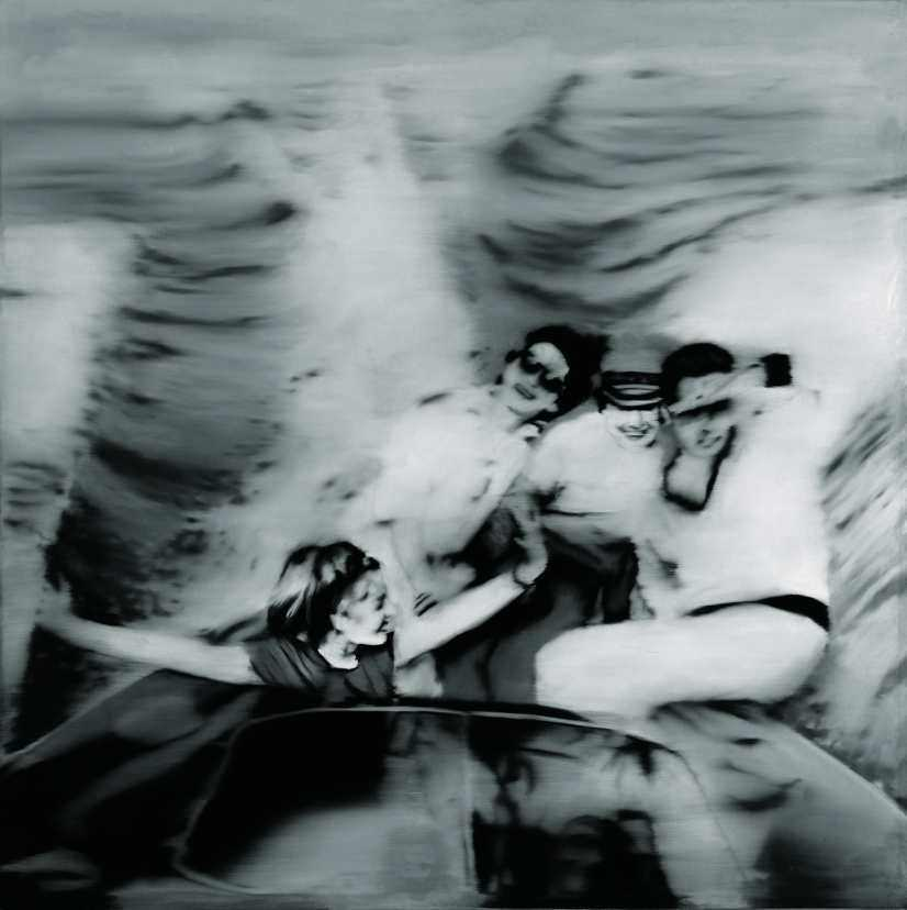 Gerhard Richter, Motorboot, 1965 (Privatsammlung) © Gerhard Richter, Köln 2010.