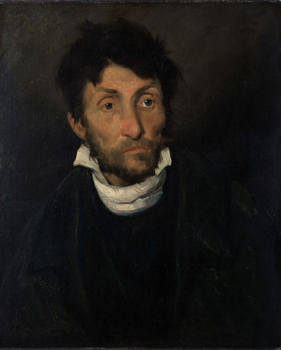 Thédore Géricault, Le monomane du vol, um 1819-1820, Öl auf Leinwand, 60, x 49, cm © Lukas - At in Flanders VZW Foto: Hugo Maertens Museum voor Schone Kunsten, Gent.