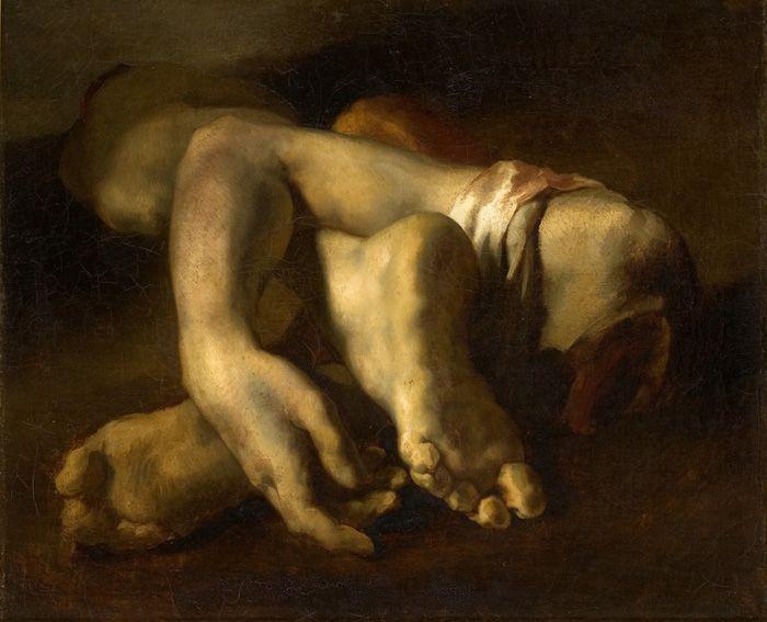 th dore g ricault fragments anatomiques 1818 kunst. Black Bedroom Furniture Sets. Home Design Ideas