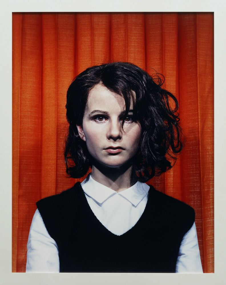 Gillian Wearing, Self Portrait at 17 Years Old, 2003, C-Print, gerahmt, 115,5 x 92 cm © the artist, courtesy Maureen Paley, London, 2012, Foto © Kunstsammlung NRW.