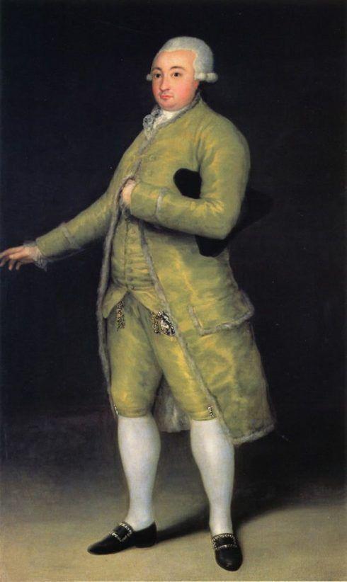 Francisco de Goya, Francisco de Cabarrús, 1788, 210 x 127 cm (Banco de España, Madrid).