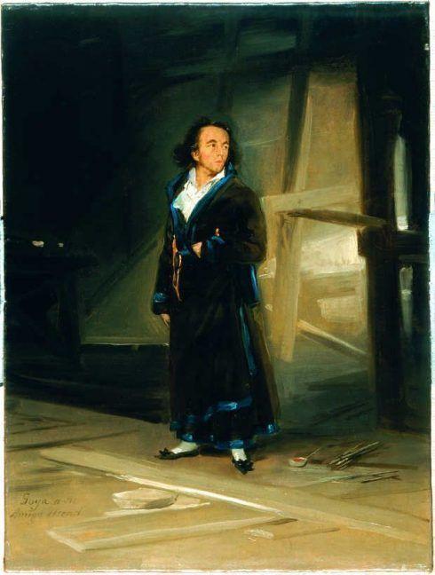 Francisco de Goya, Asensio Julià, um 1798, Öl auf Leinwand, 54,4 x 41 cm (Museo Thyssen Bornemisza Madrid).