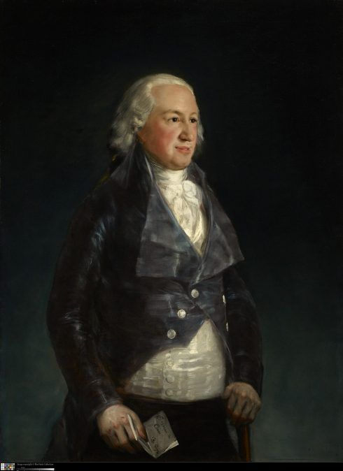 Francisco de Goya, Der Herzog von Osuna, 1797-1799, Öl auf Leinwand, 113 x 83.2 cm (The Frick Collection, New York, Purchase, 1943, 1943.1.151 © The Frick Collection).