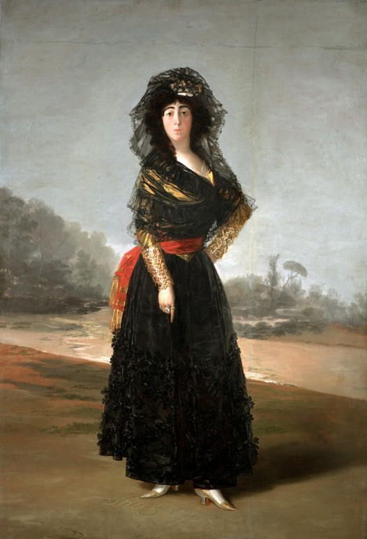 Francisco de Goya, Die Herzogin von Alba, 1797, Öl auf Leinwand, 210.1 × 149.2 cm (On loan from The Hispanic Society of America, New York, NY, A102).