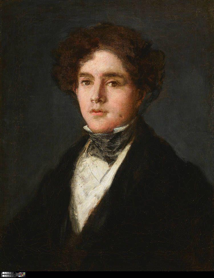 Francisco de Goya, Mariano Goya y Goicoechea, 1827, Öl auf Leinwand, 52.1 x 41.3 cm (Meadows Museum, SMU, Dallas).