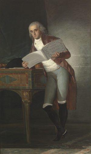 Francisco de Goya, Jose Alvarez de Toledo, Marquis von Villafranca und Herzog von Alba, 1795, 195 x 126 cm (Prado).