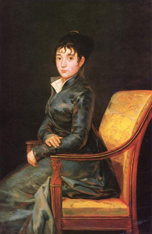 Francisco de Goya, Doña Teresa Sureda, 1805, 119.8 x 79.4 cm (National Gallery of Art - Washington DC).