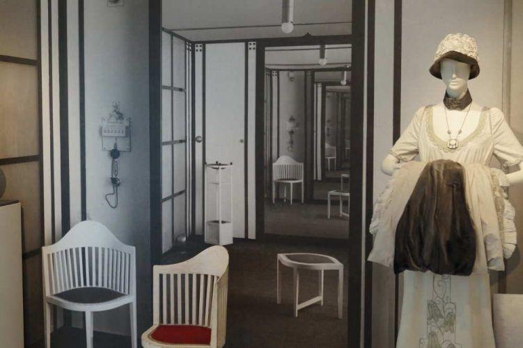 Gustav Klimt – Emilie Flöge, Ausstellung im Gustav Klimt Zentrum am Attersee 2016, Installationsansicht: Alexandra Matzner.