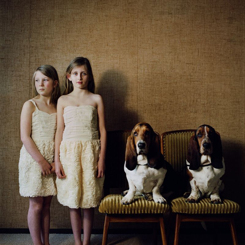Hellen van Meene, Untitled, 2012, Analoger C-Print, 39 x 39 cm © Hellen van Meene.