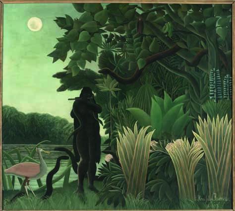 Henri Rousseau, Die Schlangenbeschwörerin, 1907, Öl auf Leinwand, 167 x 189,5 cm, Paris, Musée d'Orsay © RMN-Grand Palais (Musée d'Orsay)/Hervé Lewandowski.