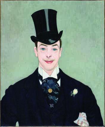 Louis Anquetin (Etrépagny 1861–1932 Paris), Henry Samary, um 1890, Öl auf Leinwand, 71 x 59 cm, Paris, Musée d'Orsay © Musée d'Orsay, Dist. RMN-Grand Palais/Patrice Schmidt.