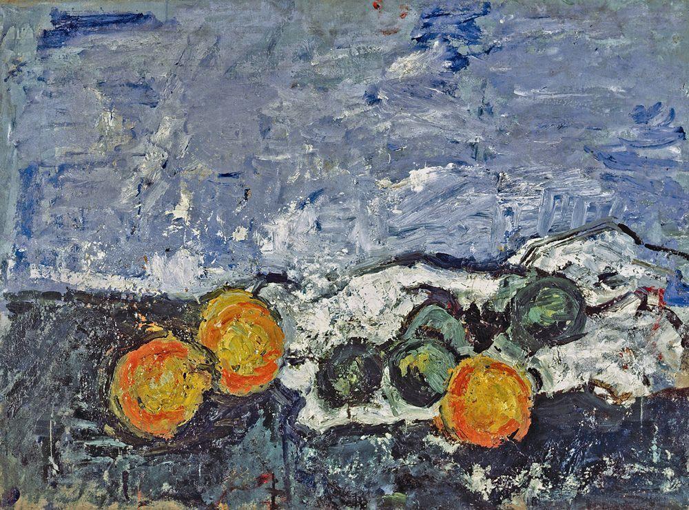 Herbert Boeckl, Großes Stillleben mit Orangen und grünen Zitronen , 1924 (Museum der Moderne Salzburg) (c) Boeckl Nachlass Wien.
